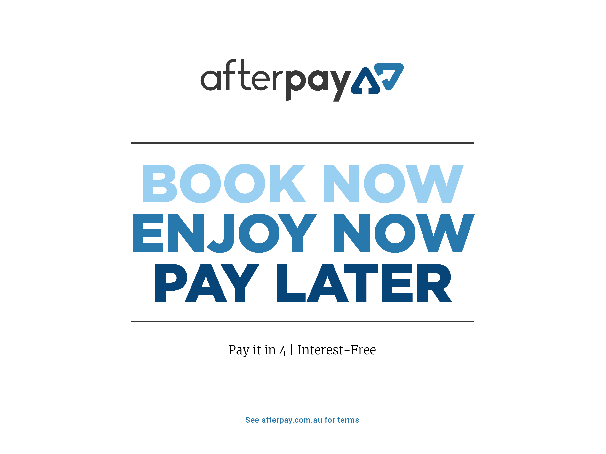 Afterpay - Banner